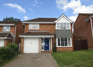 Thumbnail 4 bedroom detached house to rent in Nightjar Close, Waterlooville