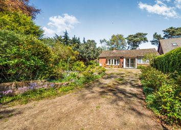 Thumbnail 2 bedroom detached bungalow for sale in Warren Close, High Kelling, Holt