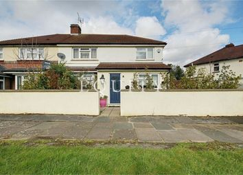 Thumbnail 4 bed semi-detached house for sale in Stoneleigh Avenue, Enfield