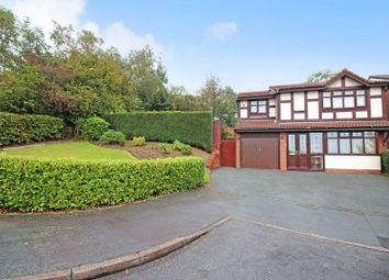 Thumbnail 4 bed detached house for sale in Drumburn Close, Packmoor, Stoke-On-Trent