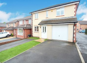 Thumbnail 3 bedroom detached house for sale in Bailey Crescent, Newport