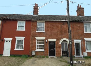 Thumbnail 2 bedroom terraced house to rent in Southend Road, Bungay