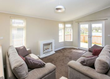 Thumbnail 2 bed mobile/park home for sale in Cliff Lane, Marston, Grantham