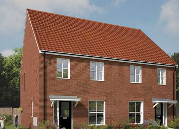 "Thumbnail 3 bed semi-detached house for sale in ""The Kilmington"" at Wellow Road, Ollerton, Newark"