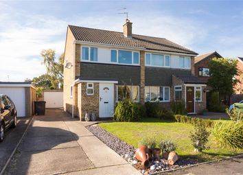 Thumbnail 3 bedroom semi-detached house for sale in Larch Way, Haxby, York