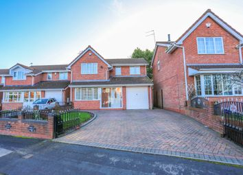 Thumbnail 4 bed detached house to rent in Charter Road, Tipton