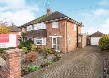 Thumbnail 3 bed semi-detached house for sale in Queens Drive, Nantwich, Cheshire