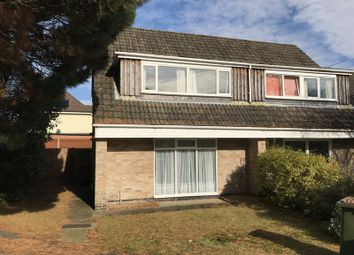 Thumbnail 4 bed semi-detached house to rent in Rowley Close, Botley, Southampton
