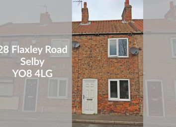 Thumbnail 2 bed terraced house for sale in Flaxley Road, Selby