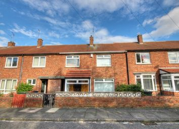 Thumbnail 3 bed terraced house for sale in Eshott Close, Gosforth, Newcastle Upon Tyne
