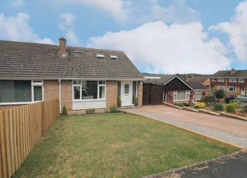 Thumbnail 3 bed semi-detached bungalow for sale in Sullivan Road, Exeter