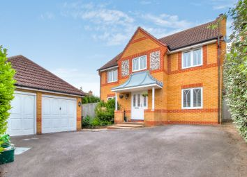 Thumbnail 4 bed detached house for sale in Blackthorn Drive, Thatcham
