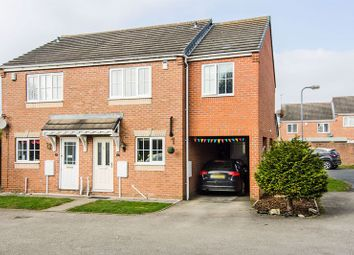 Thumbnail 3 bed semi-detached house for sale in Fremantle Drive, Cannock