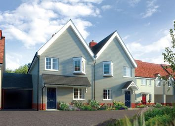 Thumbnail 3 bed terraced house for sale in The Rayleigh, Berryfields, Chapel Road, Tiptree, Essex