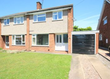 Thumbnail 3 bed semi-detached house for sale in Essex Drive, Great Haywood, Stafford