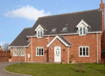 Thumbnail 5 bed detached house for sale in Peters Way, Yaxham, Dereham