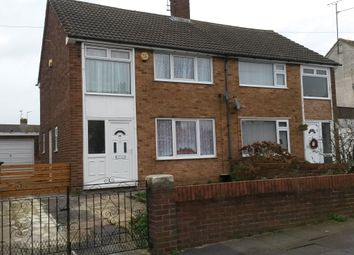 Thumbnail 3 bed semi-detached house to rent in Summers Road, Luton