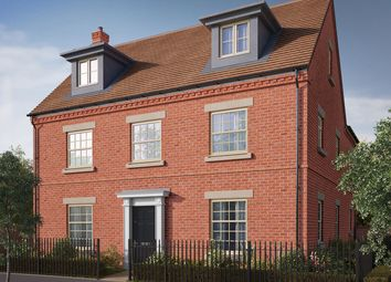 "Thumbnail 5 bed detached house for sale in ""The Milton"" at Central Avenue, Brampton, Huntingdon, Brampton"