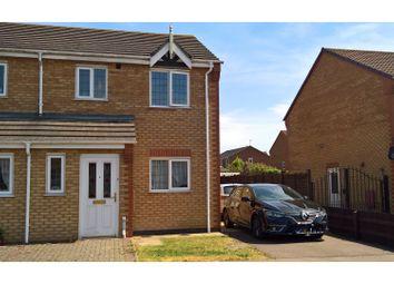 Thumbnail 3 bedroom semi-detached house to rent in Marcian Close, Hinckley