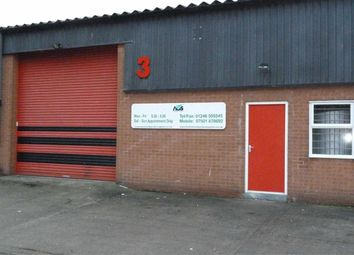 Thumbnail Commercial property to let in Unit 3, Vanguard Trading Estate, Britannia Road, Chesterfield