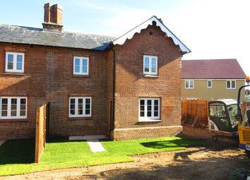 Thumbnail 3 bed semi-detached house for sale in Woodpecker Way, Costessey, Norwich