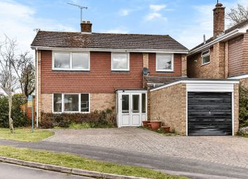 Thumbnail 4 bed detached house for sale in Romans Gate, Pamber Heath, Tadley