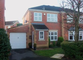 Thumbnail 3 bed semi-detached house to rent in Cursley Way, Chilwell, Nottingham