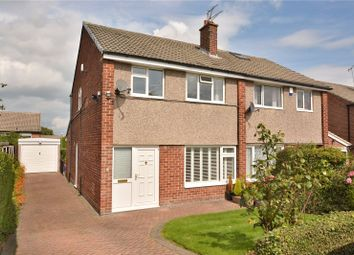 Thumbnail 3 bed semi-detached house for sale in Brookhill Grove, Alwoodley, Leeds, West Yorkshire