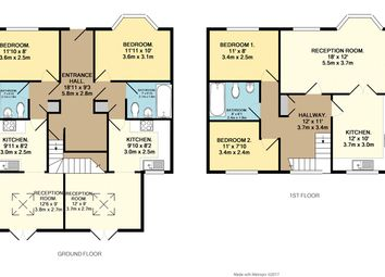 Thumbnail 4 bed semi-detached house for sale in Oldmead Walk, Uplands, Bristol