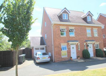 Thumbnail 3 bed semi-detached house for sale in Portia Road, Stratford-Upon-Avon