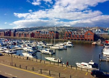Thumbnail 2 bedroom flat to rent in Fitzroy House, The Marina, Swansea