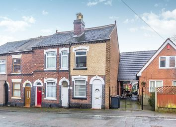 Thumbnail 2 bed terraced house to rent in Albert Street, Chesterton, Newcastle