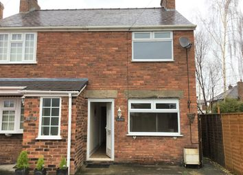 Thumbnail 2 bed semi-detached house for sale in Hawarden Road, Caergwrle, Wrexham