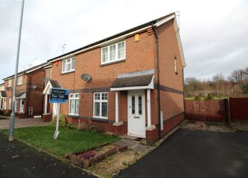 Thumbnail 2 bedroom semi-detached house for sale in The Chase, Dunstall, Wolverhampton