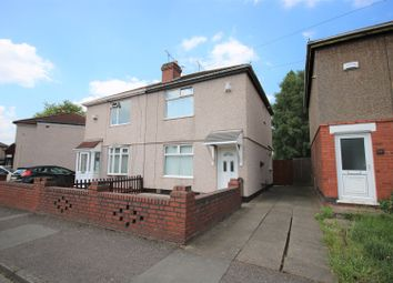 Thumbnail 2 bedroom semi-detached house for sale in Newhall Road, Coventry