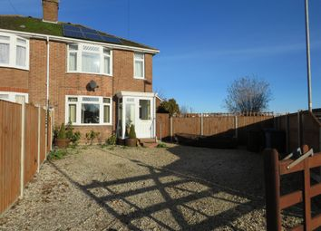 Thumbnail 3 bed semi-detached house for sale in Ranworth Road, Norwich