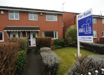 Thumbnail 3 bed terraced house for sale in Knutsford Road, Latchford, Warrington
