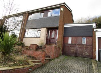 Thumbnail 3 bed semi-detached house for sale in Rishworth Rise, High Crompton, Shaw
