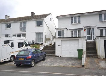 Thumbnail 2 bed end terrace house to rent in Restormel Road, Looe, Cornwall
