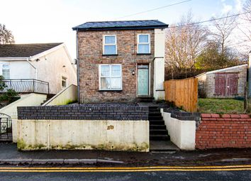 Thumbnail 2 bed detached house for sale in Preswylfa, Farm Road, Pontlottyn, Bargoed
