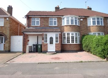 Thumbnail 5 bed semi-detached house for sale in Woodgate Drive, Birstall, Leicester