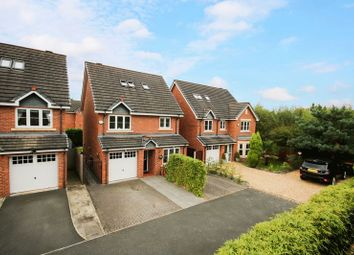 Thumbnail 4 bedroom detached house for sale in Greenwood Place, Monton, Eccles