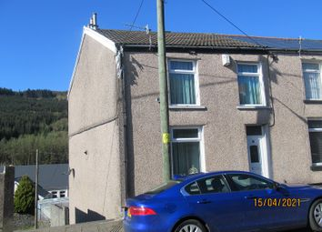 Thumbnail 3 bed end terrace house for sale in Painters Row, Treherbert, Rhondda Cynon Taff.