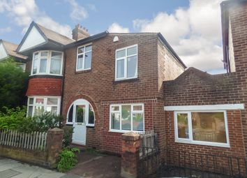 Thumbnail 4 bed semi-detached house to rent in Rosebery Crescent, Sandyford, Newcastle Upon Tyne