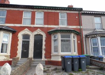 Thumbnail 1 bedroom flat to rent in Egerton Road, Blackpool