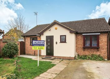 Thumbnail 2 bed detached bungalow for sale in Bede Place, Peterborough