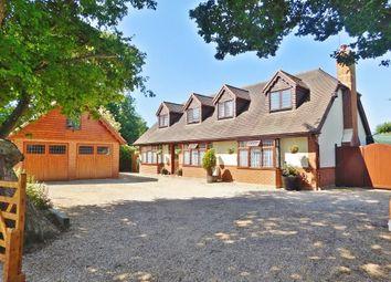 Thumbnail 3 bed detached house for sale in Vicarage Lane, Stubbington, Fareham