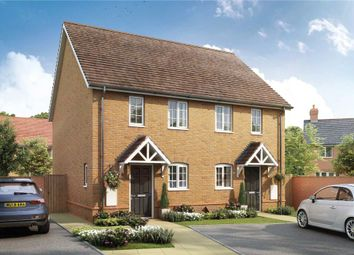 Thumbnail 2 bed semi-detached house for sale in Bramley View, Bramley Nr Sherfield On Loddon, Hampshire