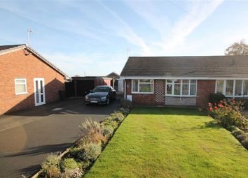 Thumbnail 2 bed semi-detached bungalow for sale in Meadow Close, Oswestry