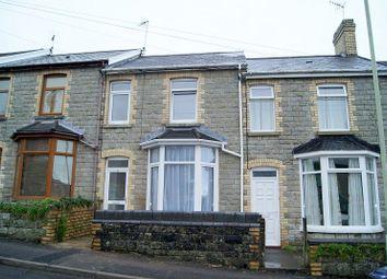 Thumbnail 3 bed terraced house to rent in Charles Street, Bridgend, Bridgend.